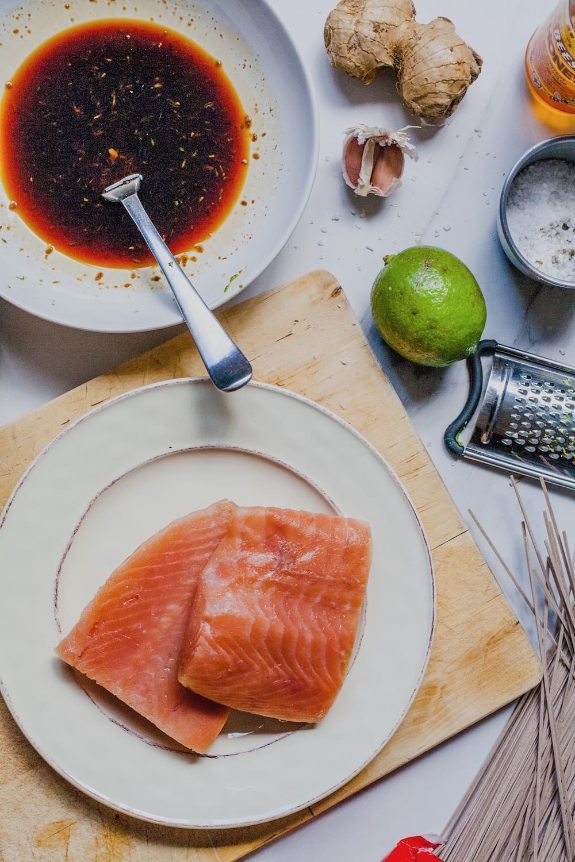 Terikayi Salmon Skewers