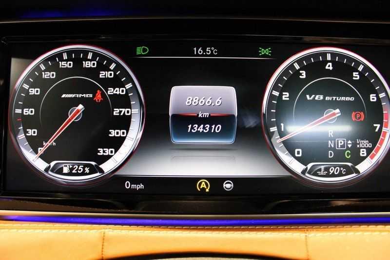 Mercedes-Benz S-Klasse Coupé 63 AMG 4Matic Zeer compleet/Carbon afbeelding 10