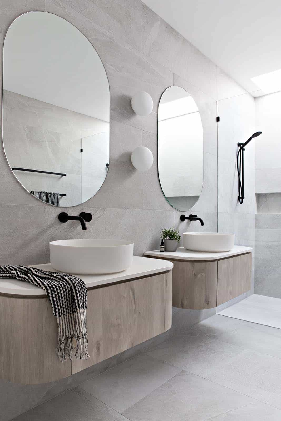 Shaped Mirrors Mirrors