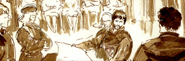 Storyboard Aljubarrota Royal battle - Abrantes 02