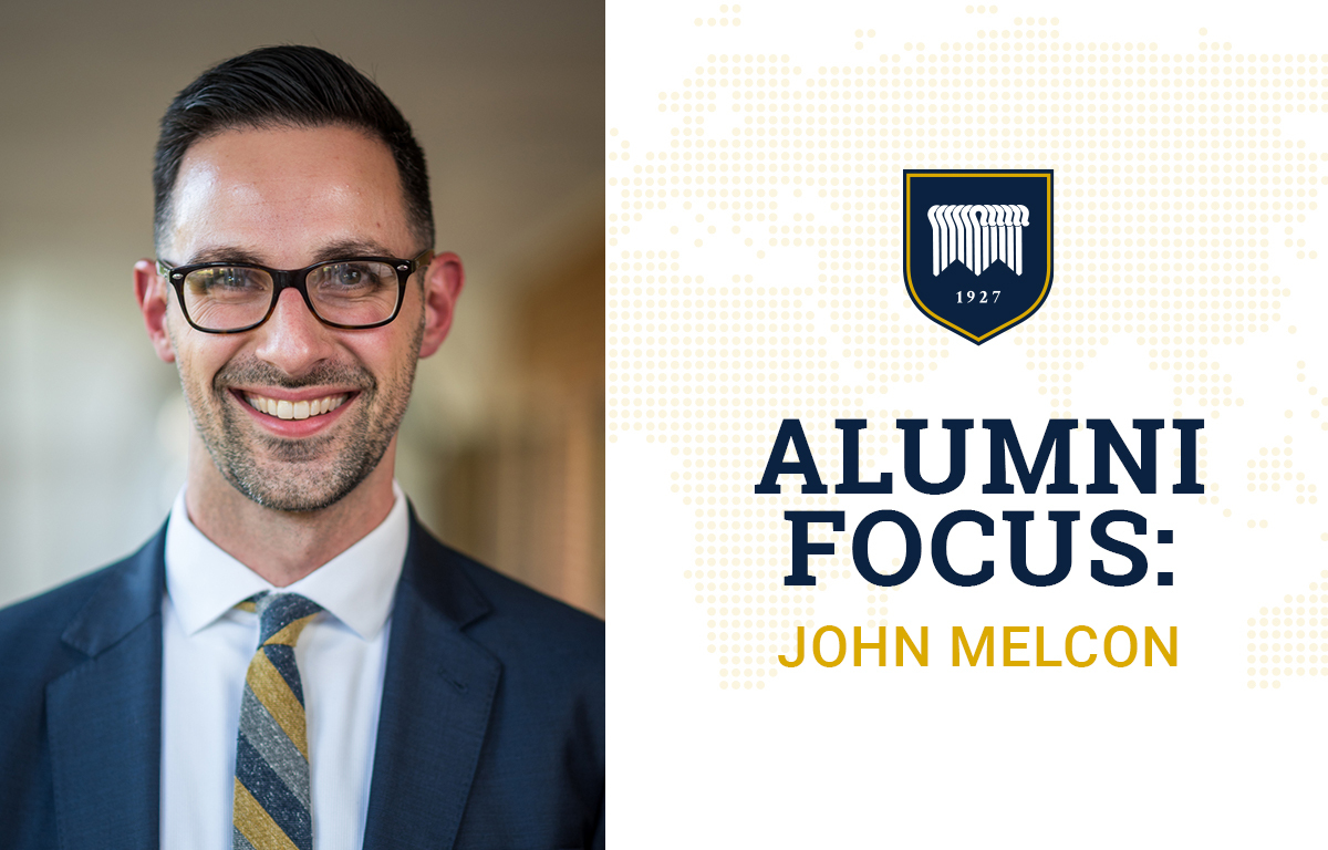 Alumni Focus: John Melcon image