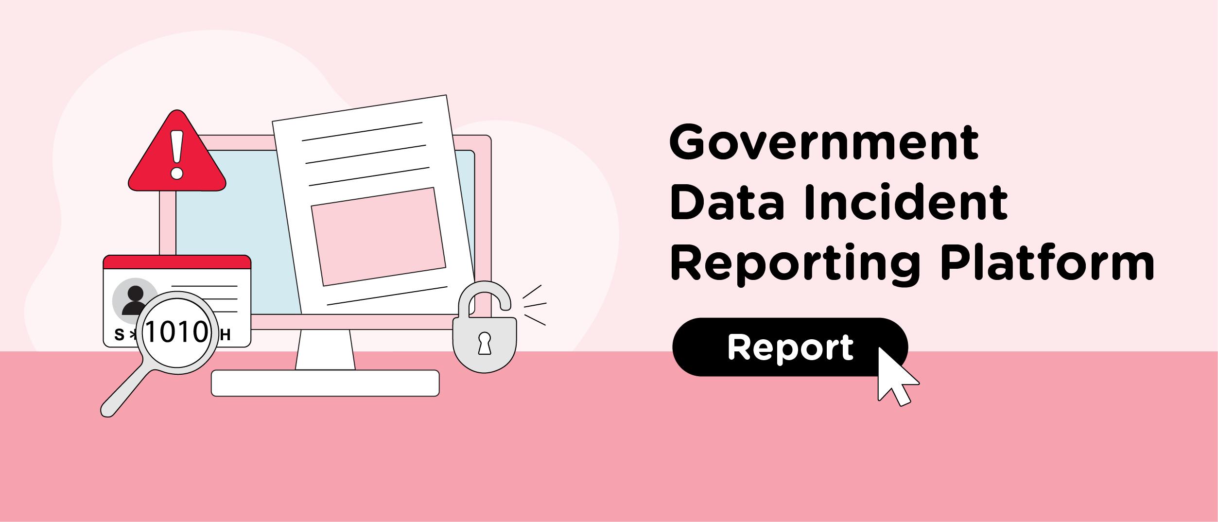 Report data incident