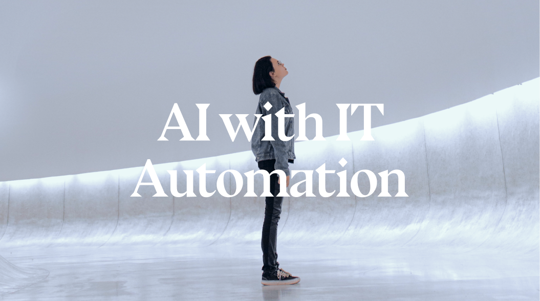 AI with IT Automation for a better Digital Society