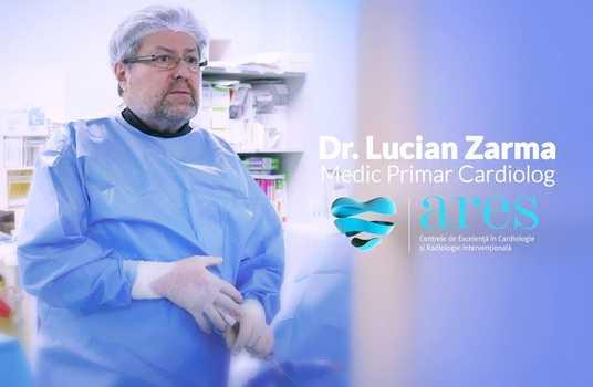Jurnalul medicului -  De ce iubesc cardiologie? Dr. Lucian Zarma