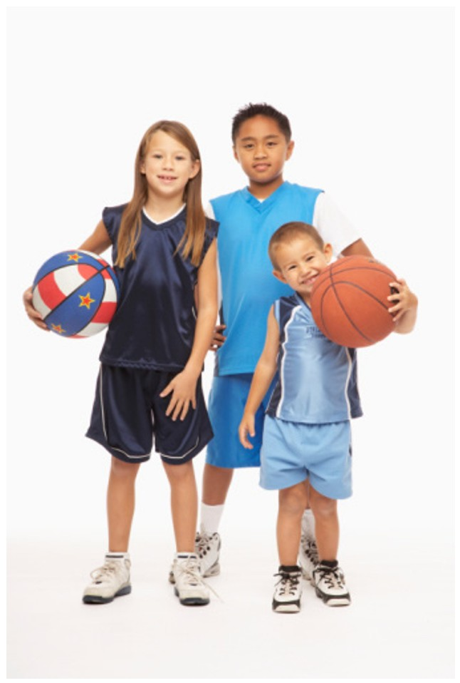 Kids Basketball Eight Benefits