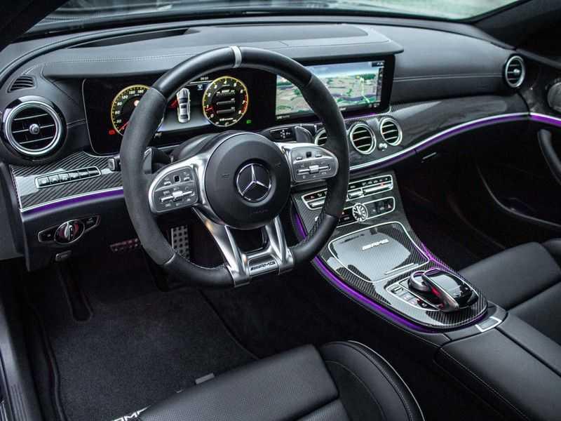 Mercedes-Benz E63 S E-klasse Burmester AMG-Performance-stoelen 63 S AMG 4Matic Premium Plus afbeelding 5