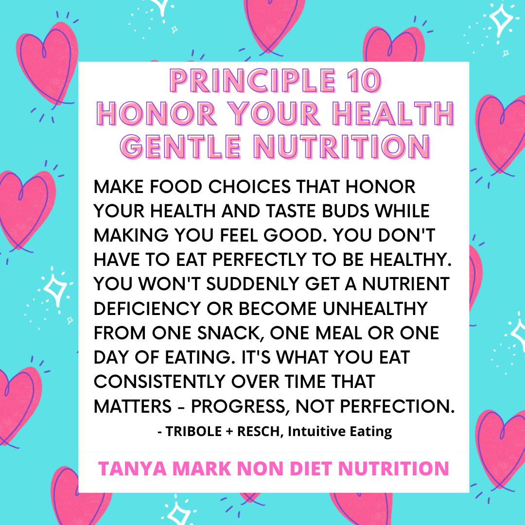 Gentle Nutrition Intuitive Eating