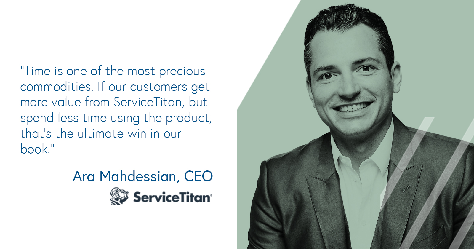 Ara Mahdessian, CEO of ServiceTitan on creating value for customers