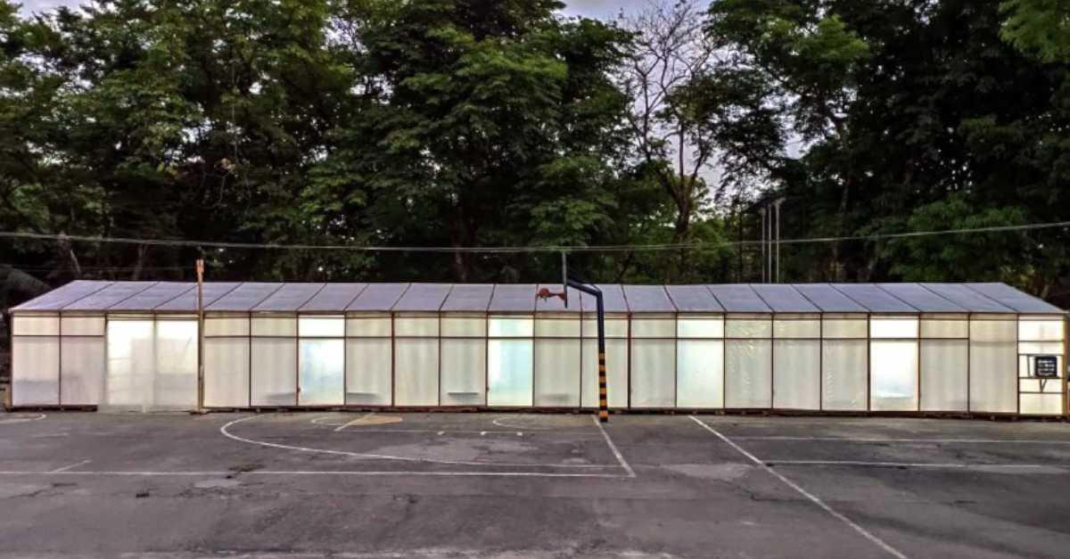 Temporary Quarantine Facility Exterior 2