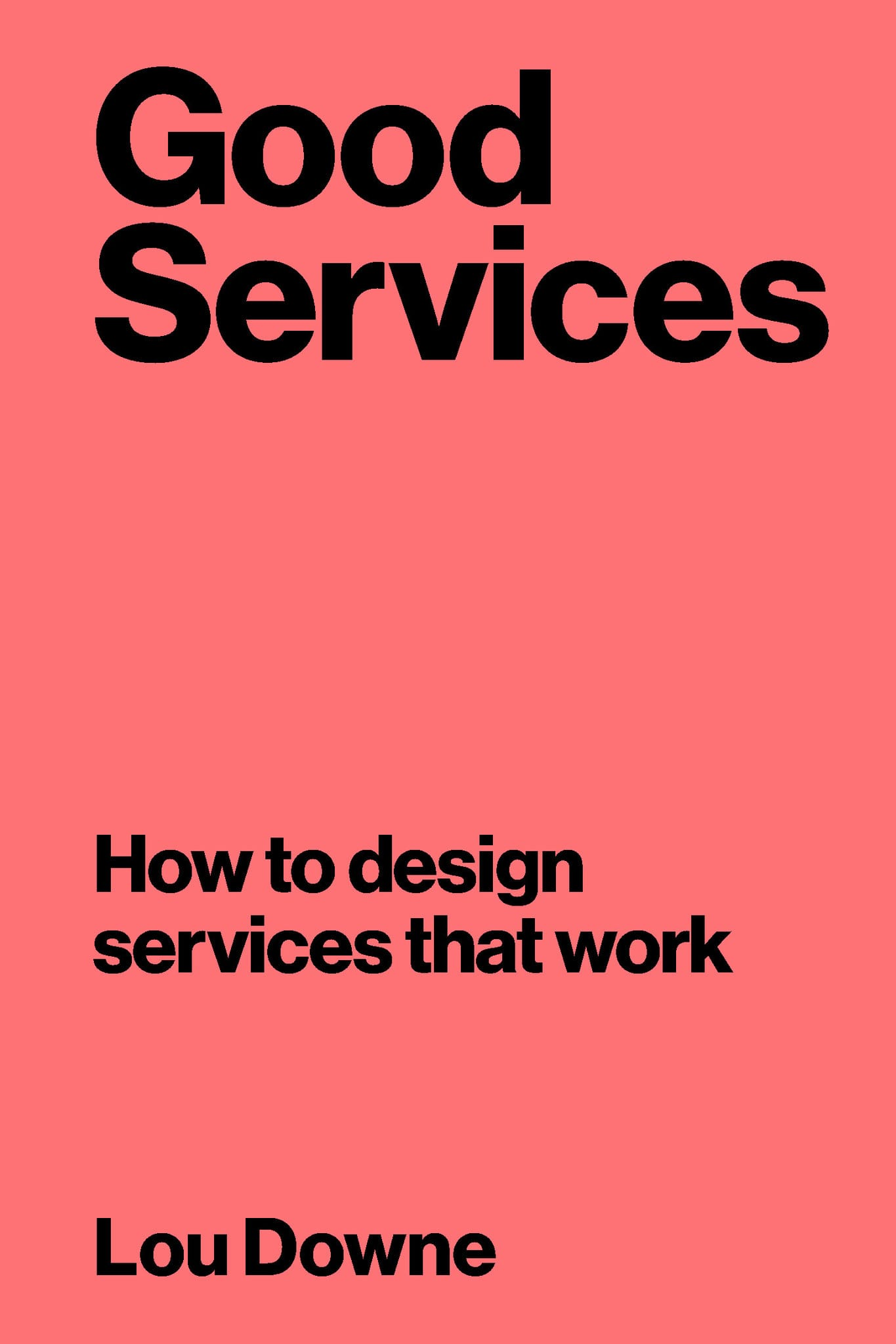 The cover of Good Services