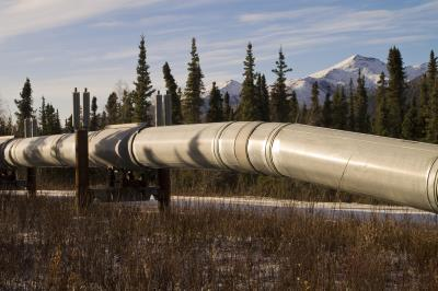 Pipelines in Alaska, from Kevin Abbott of FreeImages.com