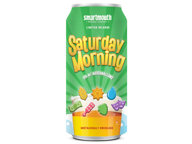 Saturday Morning (Lucky Charms beer) brewed by Smartmouth Brewing Company