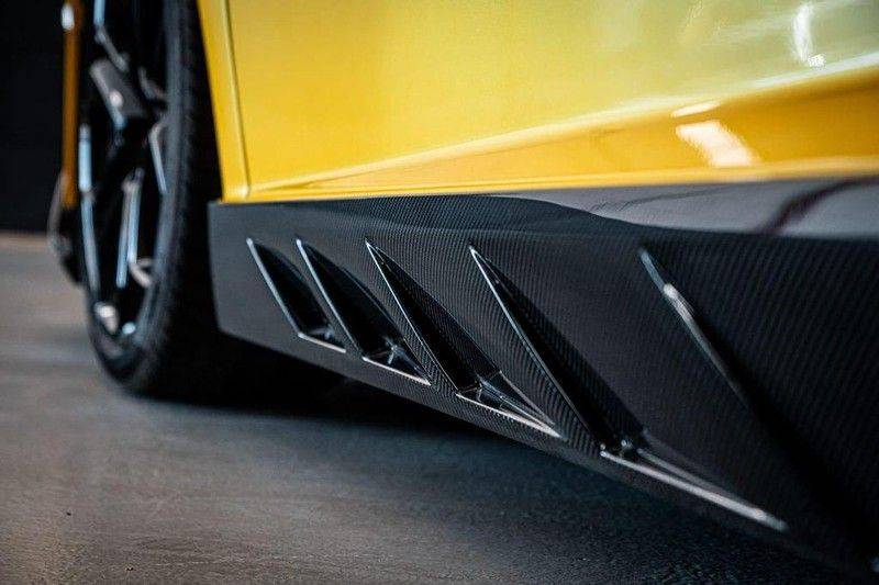 Lamborghini Aventador 6.5 V12 LP700-4, 700 PK, Full Mansory, Full Carbon, Keramiek, Full Service, Liftsysteem, BTW, 37DKM!! afbeelding 9