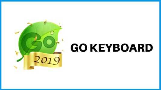 GO - best Keyboard apps