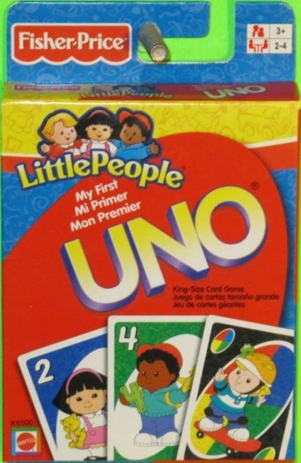 Little People My First Uno