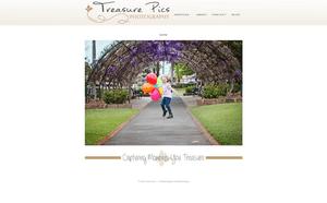 Desktop screenshot of Treasure Pics