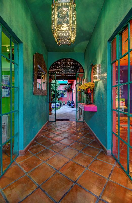 Upon entering the secure vestibule, you instantly know that you are in another world, Casa del Alma.