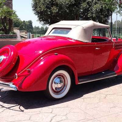 Ford V8 DeLuxe 2 Door Roadster 1936 16