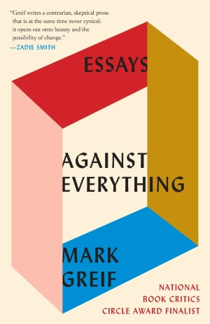 Against Everything Book Cover