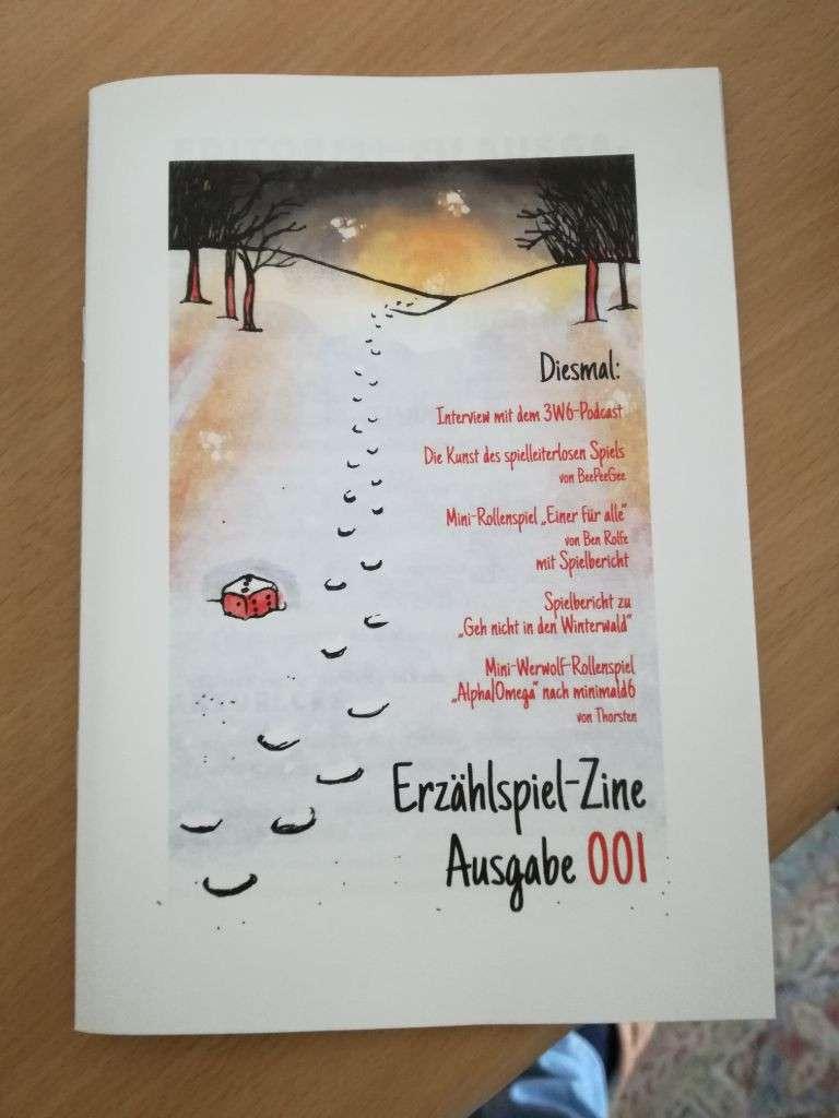 Foto vom gedruckten Cover