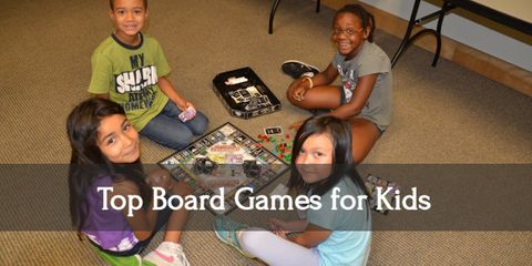 Learn about 42 amazing board games that you can play with your kids, whether they're just toddlers or they're teenagers!