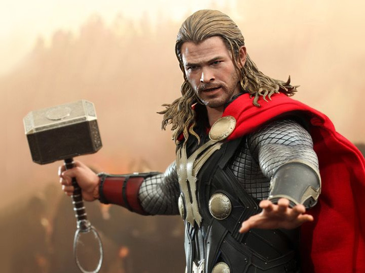 Hot Toys Thor: The Dark World MMS224 Thor 1/6th Scale Collectible Figure