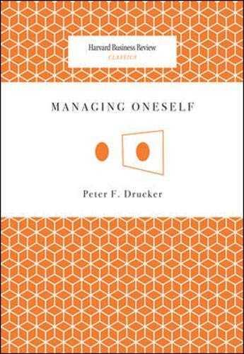 Managing Oneself Cover