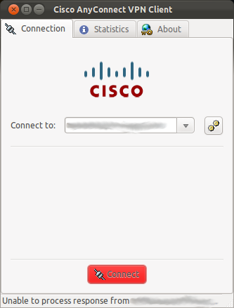 Useless Cisco error message