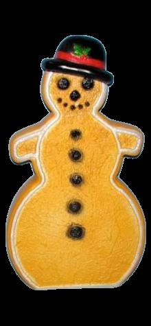 Gingerbread Snowman photo