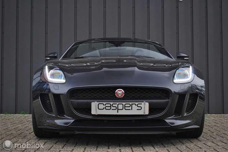 Jaguar F-Type 3.0 V6 Convertible   398 Pk, 500 Nm   Leder   afbeelding 11
