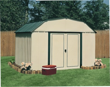 Arrow Vinyl Sheridan Metal Shed
