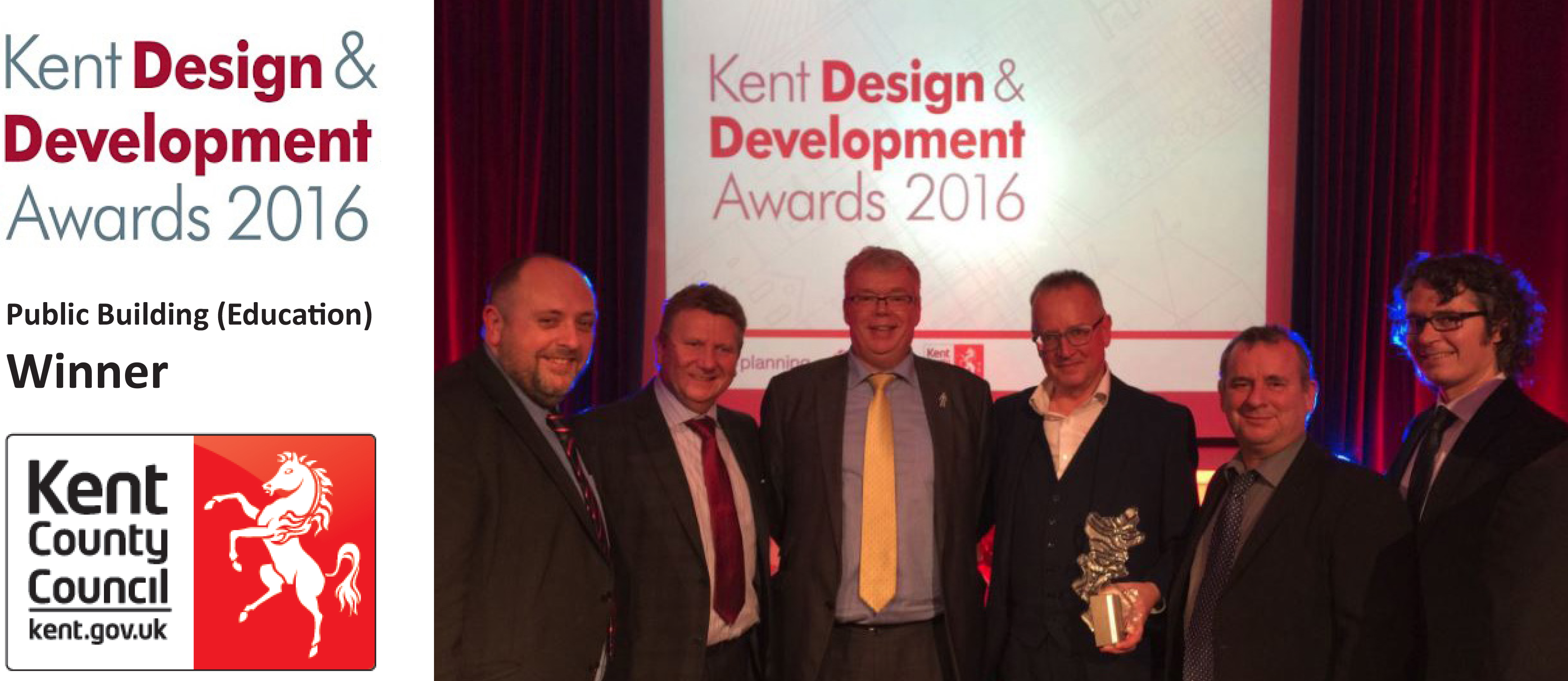 The Yarrow Hotel Wins a Kent Design & Development Award