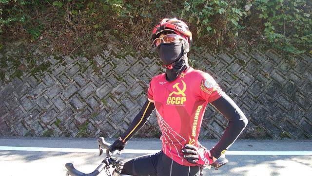ロードバイク春秋レイヤリング