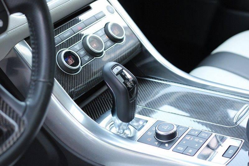 "Land Rover Range Rover Sport 5.0 V8 SVR Pano, 23"", Schaalstoelen, Carbon, afbeelding 11"