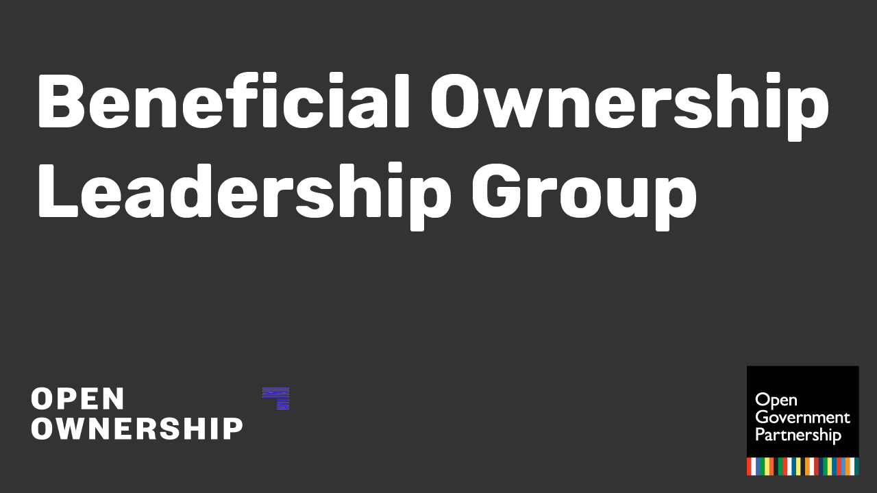 Beneficial Ownership Leadership Group Logo