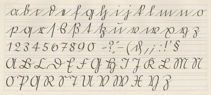 The Offenbacher Schrift Alphabet