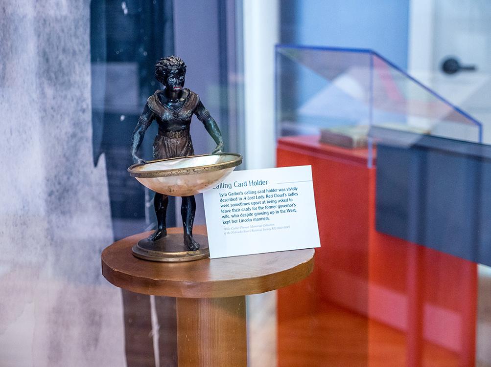 Willa Cather Exhibit artifact