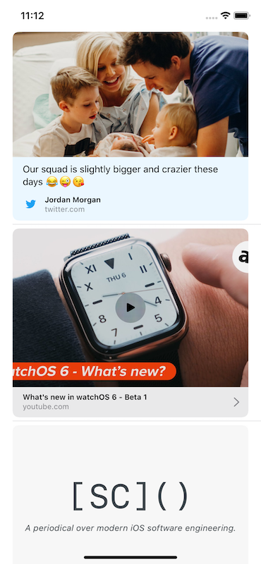 Link Preview in Messages