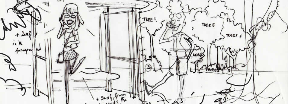Storyboard schema - Ello - Sumatra project 05