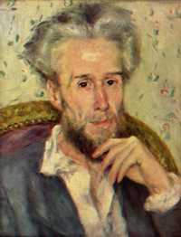 Victor Chocquet, by Pierre-Auguste Renoir in 1876
