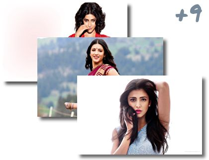 Bollywood Shruti Haasan theme pack