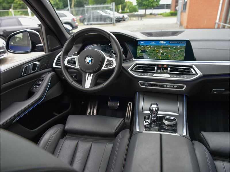 BMW X5 M50d M-Sportpakket Laser-LED H&K Pano Head-Up Swarovski Comf.Zetels 22-Inch! afbeelding 22