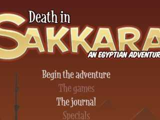 Death in the Sakkara