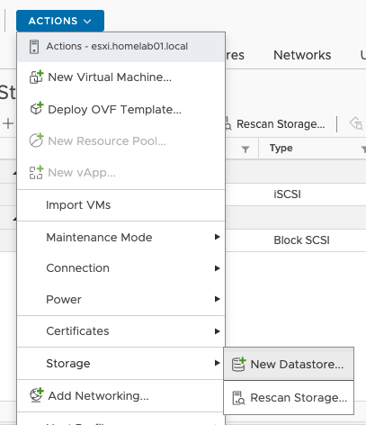 Configure Qnap iSCSI as VMware Datastore - 15
