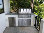 after: custom outdoor kitchen