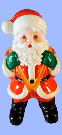 Santa With Parachute photo