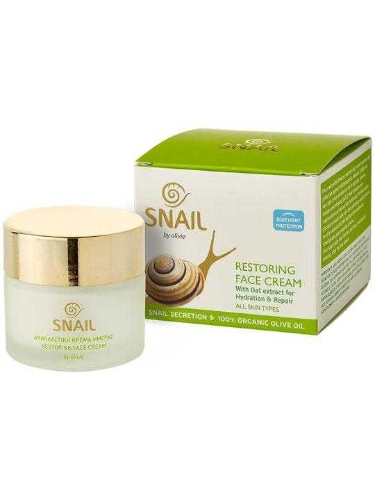 24h restoring face cream with Snail extract – 60ml