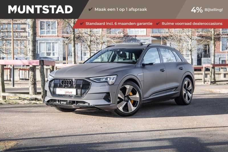 Audi e-tron 55 quattro Business edition Plus INCL. BTW | 4% bijtelling vanaf €126 Netto | Matrix-LED | B&O Sound | Pano. dak | Stoelverwarming | Verlengde garantie | Keyless-Entry |