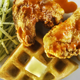 Homemade Chicken and Waffles