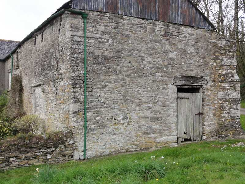 Gable end and Buttress on right